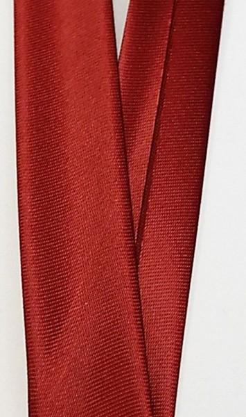 Satinschrägband dunkel rot 18 mm