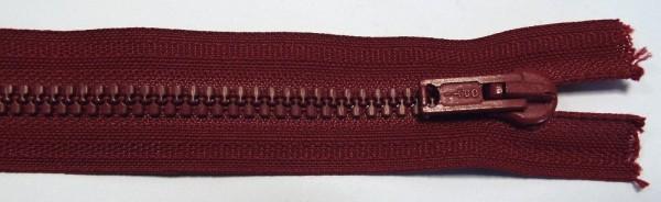 RV rot bordeaux, 038 cm Kunststoff teilbar Krampe