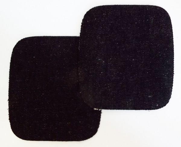 1 Paar Patches Jeans schwarz 10,5 x 10 cm