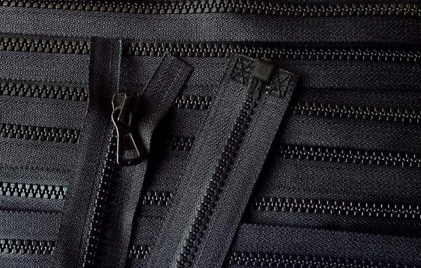 RV schwarz, 054 cm Kunststoff teilbar Krampe